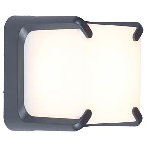 LED walllamp, anthracite ECO LIGHT 6166 GR