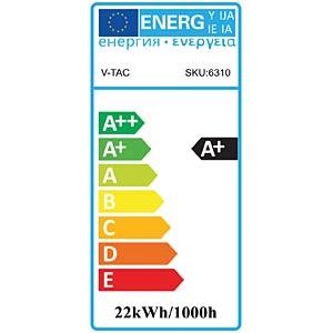 LED-Röhre, T8, 22 W, 1900 lm, 6400 K, 1500 mm V-TAC 6310