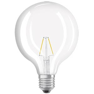 LED-Lampe E27 RETROFIT, 4 W, 470 lm, 2700 K, Filament OSRAM 4052899972384