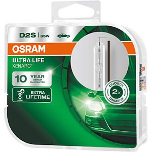 Kfz-Lampe, D2S, 2er-Pack, P32d-2, Xenarc Ultra Life OSRAM AUTOMOTIVE 66240ULT-HCB