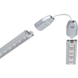 LED Light Bar Satin, Base Set 7.5W 230/24V/acryl PAULMANN 70284
