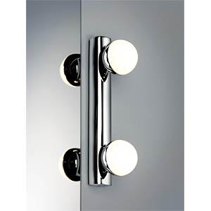Proxima- Spiegelleuchte, IP44, LED, 2x 3,5 W, EEK A++ - A PAULMANN 70469