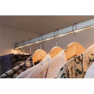 DressLight Kleiderstange, IR-Sensor LED 4xAAA, 110cm PAULMANN 70499