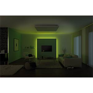 LED-Streifen MaxLED, 44 W, 1260 lm, RGB, 3000 mm, dimmbar PAULMANN 70567