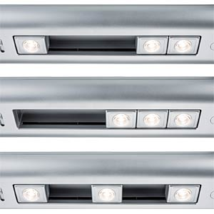 Slide bar cabinet light dimming 30cm LED, 6xAA PAULMANN 70640