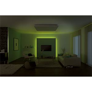 LED-Streifen MaxLED, 44 W, 1260 lm, RGB, 3000 mm, dimmbar PAULMANN 70673