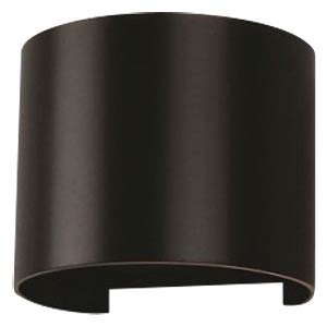 V-TAC Beam-exterior-lamp, schwarz, 3000 K, abgerundet V-TAC 7081