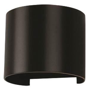 V-TAC Beam-Außenleuchte, schwarz, 4000 K, abgerundet, EEK A++ V-TAC 7090