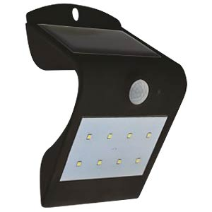 V-TAC LED-Solar-Floodlight, incl. Motionsensor, black V-TAC 7097