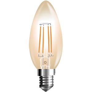 V-TAC Filament-Amber, 4 W, 2200 K, Kerze, E14 V-TAC