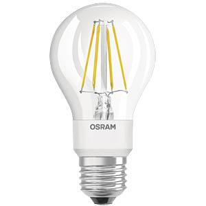 LED-Lampe E27 GLOW, 7 W, 750 lm, 2700 K, Filament, dimmbar OSRAM 4058075801387