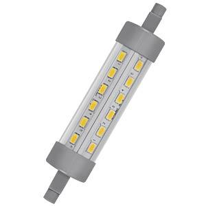 LED-Lampe STAR, R7S, 9 W, 1055 lm, 2700 K, 118 mm OSRAM 4052899961234