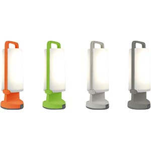 LED-Solarleuchte, Mobil, mit USB-Lader, 1,3 W, orange, IP54 ECO LIGHT P 9041 OR