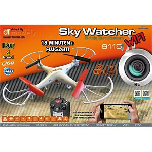 SkyWatcher WLAN Quadrokopter mit Cam DF MODELS 9115