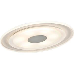 Einbauleuchte LED Whirl, 1 x 6 W, 2700 K, alu/satin PAULMANN 92535