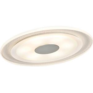 Einbauleuchte LED Whirl, 3 x 6 W, 2700 K, alu/satin PAULMANN 92543