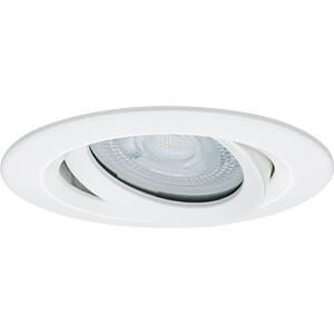 Einbauleuchte LED Nova, 1 x 7 W, 2700 K, weiß, IP65 PAULMANN 92897