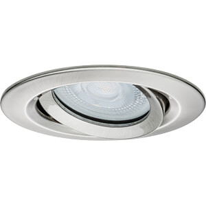 Einbauleuchte LED Nova, 1 x 7 W, 2700 K, eisen, IP65 PAULMANN 92899