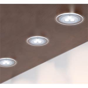 Möbel EBL, LED, 1x3W, 100mm Chrom matt, EEK A++ - A PAULMANN 93549