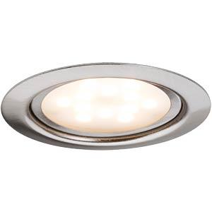 Furniture light set LED 3x4.5W, 65mm brushed PAULMANN 93553