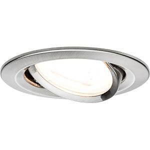 Einbauleuchte LED Nova, 3 x 7 W, 2700 K, eisen PAULMANN 93607