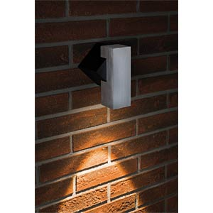 Surface, mounted light, IP44, LED, 1 W, alu PAULMANN 93795