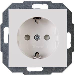 Steckdose - 1-fach KS, HK07, reinweiß KOPP 940029008