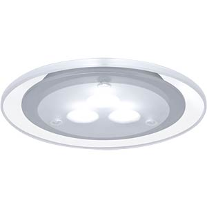 Möbel EBL LED 3x3W, 100mm, Chrom matt, EEK A++ - A PAULMANN 98352