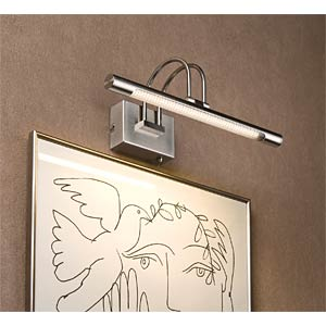 Galeria Remus LED 36 Picture Light 3.5W 230V Brushed Iron PAULMANN 99075