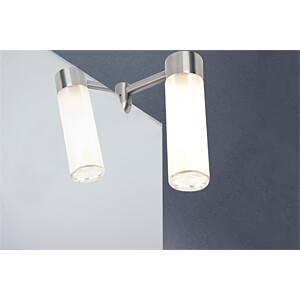 Mirror lamp, Mirror Vitrino, 42 W, G9, brushed PAULMANN 99083