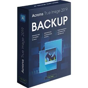 Software, True Image 2019, 3 PC/Mac (DE) ACRONIS TI32B2DES