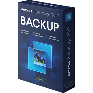 Software, True Image 2019, 3 pc/Mac (UK) ACRONIS TI32B2UKS