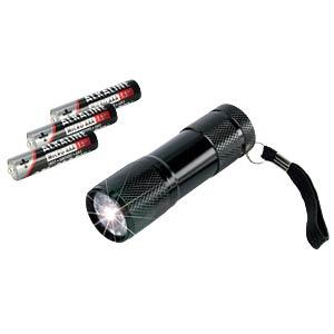 LED-Taschenlampe, schwarz, 3x AAA (Micro) ANSMANN 5016243