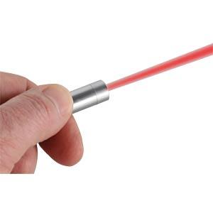 Keychain Laserpointer 2in1 + LED-Taschenlampe ANSMANN