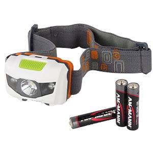 Ansmann LED-Stirnlampe, 80 lm, 4 Funktionen ANSMANN 1600-088
