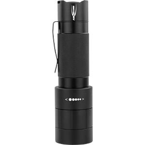LED-Taschenlampe M350F, 320 lm, schwarz, 4x AAA (Micro) ANSMANN 1600-0172