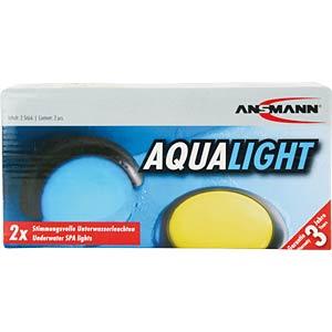 LED-Unterwasserleuchte, silber, 4x AAA (Micro) ANSMANN 5870052