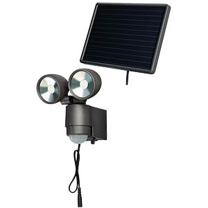 Solar LED-Spot SOL 4 W dunkelgrau, PIR BRENNENSTUHL 1170930