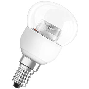 LED SUPERSTAR CLAS P25 4 W clear, EEC A+ OSRAM 4052899913653