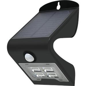 LED-Solarleuchte, Strahler, mit Bewegungsmelder, schwarz, IP65 DIODOR DIO-SOLAR 2W-B