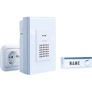 Wireless door chime, FG 8, for sockets M-E FG8