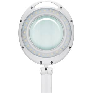 Lupenleuchte, LED, Ø 100 mm Echtglaslinse, 3 Dioptrien FIXPOINT 45274