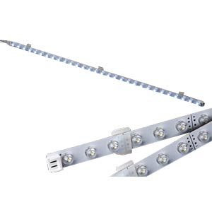 Rigid LED strip with 30 LEDs, warm white, 12 V DC GOOBAY 30271