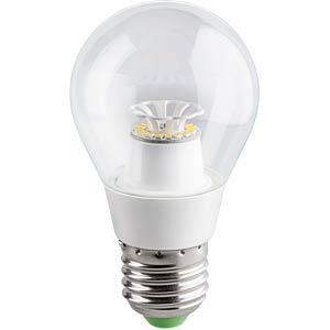 LED, E27, 4,5 W, 350 lm, ww, EEK A+ GOOBAY 30553