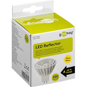 LED-Lampe GU5,3, 5 W, 320 lm, 2700 K GOOBAY 30571