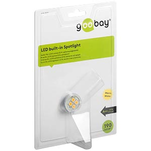 G4S LED room light, ambient, 190 lm, 160°, EEC A++ GOOBAY 30574