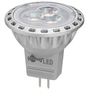 LED reflector, 2 W, 200 lm, cool white, EEK A+ GOOBAY 30583