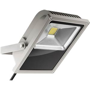 LED floodlight cool white 3800 lm 50 W, EEK A GOOBAY 30649