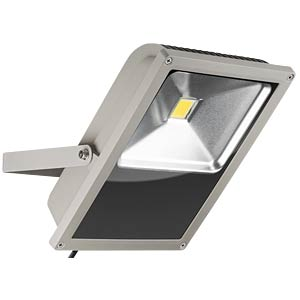 LED-Flutlicht, 70 W, 4900 lm, 3000 K, grau, IP64 GOOBAY 30640