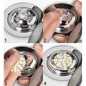 LED-Strahler G4, 2 W, 190 lm, 6400 K GOOBAY 30589
